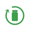 Icon Design products fit for recycling
